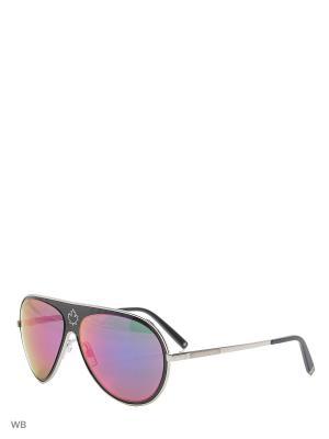 Солнцезащитные очки DQ 0104 05Z Dsquared2. Цвет: черный, серебристый