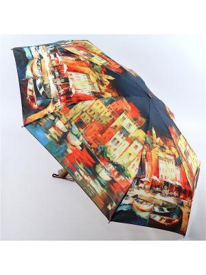 Зонт Zest. Цвет: серо-зеленый, темно-синий