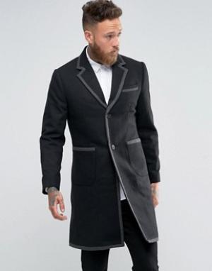 Rogues of London Пальто. Цвет: черный