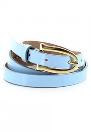 Ремень ALTER EGO. Цвет: голубой