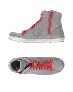 Высокие кеды и кроссовки O.X.S.. Цвет: серый