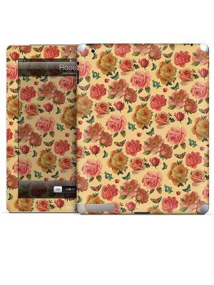 Виниловая наклейка для iPad 2,3,4 Rose II-Julie Comstock Gelaskins. Цвет: бежевый, розовый