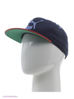 Бейсболка LS ColourBlock SnapBack Puma. Цвет: синий, красный