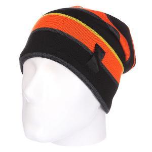 Шапка носок  Magic Orange Apo. Цвет: черный,серый,оранжевый