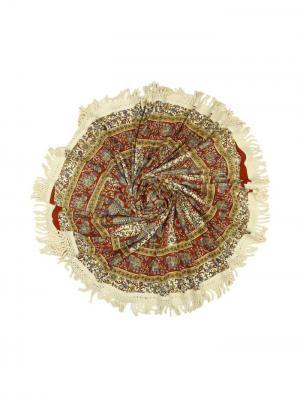 Покрывало круглое диаметр 150 см ETHNIC CHIC. Цвет: бежевый