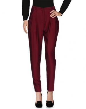 Повседневные брюки ATTIC AND BARN. Цвет: пурпурный