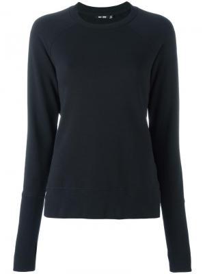 Crew neck sweatshirt Blk Dnm. Цвет: чёрный
