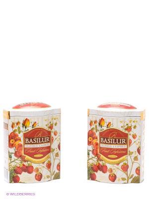 Чайный набор Basilur ФРУКТОВОЕ ВДОХНОВЕНИЕ. Цвет: белый, красный