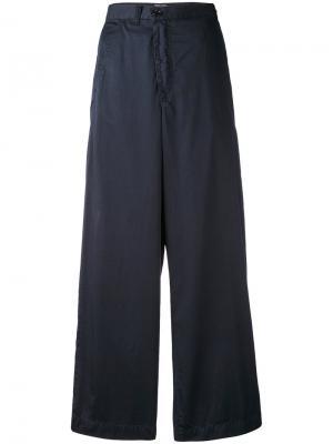 Расклешенные брюки Zucca. Цвет: синий