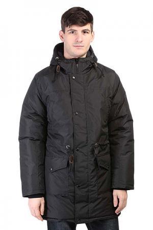 Куртка парка  Parka Winter Black Anteater. Цвет: черный