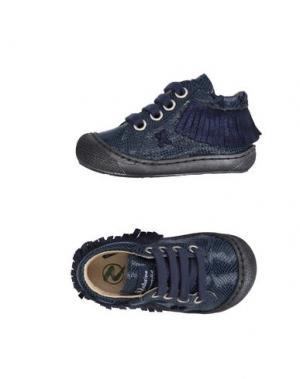 Низкие кеды и кроссовки NATURINO. Цвет: темно-синий