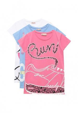 Комплект футболок 3 шт. Brums. Цвет: разноцветный