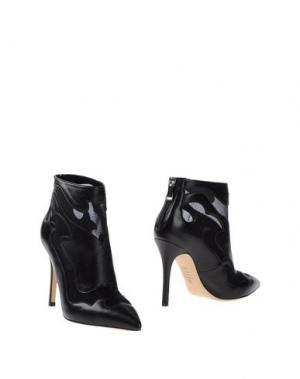 Полусапоги и высокие ботинки SEMILLA. Цвет: черный