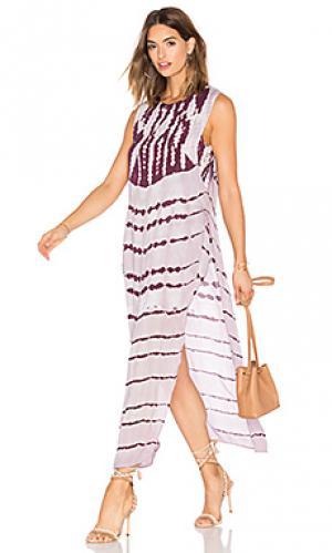 Платье amara Young Fabulous & Broke. Цвет: фиолетовый