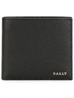 Бумажник Nyelsen Bally. Цвет: чёрный