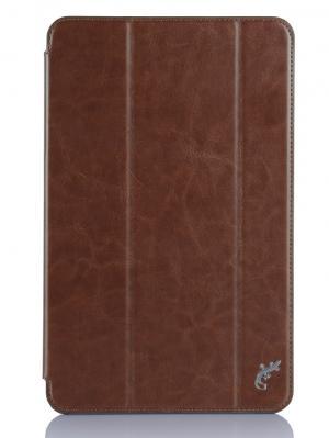 Чехол G-Case Slim Premium для Samsung GALAXY Tab Е 9.6. Цвет: коричневый
