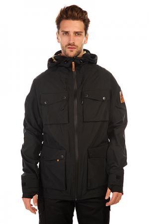 Куртка  Blade Jacket Black CLWR. Цвет: черный