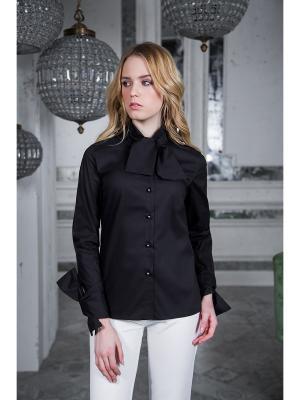 Блузка Вестетика. Цвет: черный
