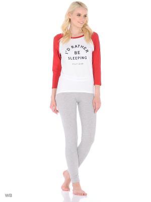 Пижама Tommy Hilfiger. Цвет: красный, белый, серый