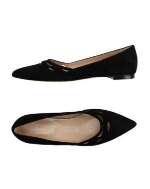 Балетки ANNA F.. Цвет: черный
