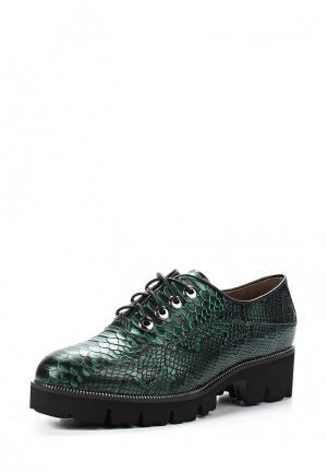 Ботинки Sparkling. Цвет: зеленый