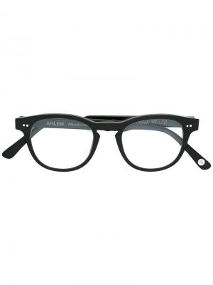 Оптические очки Rue Cler Ahlem. Цвет: чёрный