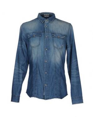 Джинсовая рубашка CYCLE. Цвет: синий