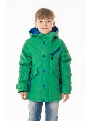 Куртка NIKASTYLE. Цвет: светло-зеленый