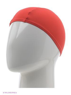 Шапочки для плавания Speedo. Цвет: красный
