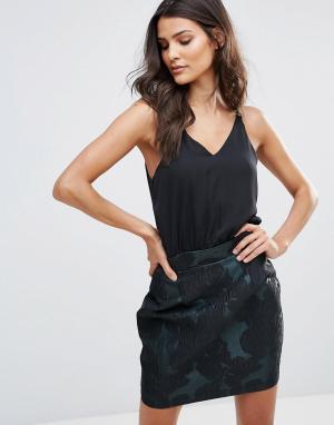 AX Paris Платье на бретельках 2 в 1. Цвет: мульти