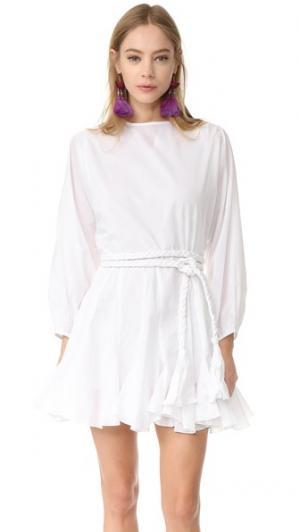 Платье Ella Rhode Resort. Цвет: белый
