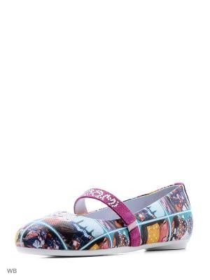 Туфли ELEGAMI. Цвет: бирюзовый