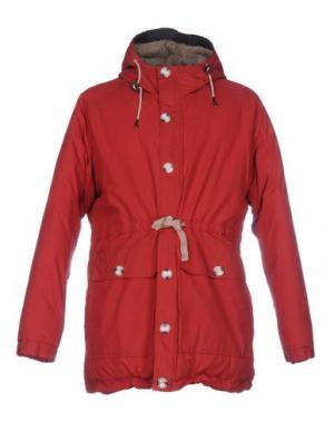 Куртка SUIT. Цвет: красный