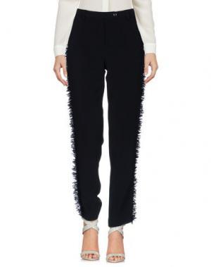 Повседневные брюки GIANLUCA CAPANNOLO. Цвет: черный