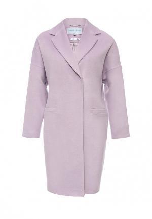 Пальто Imocean. Цвет: фиолетовый