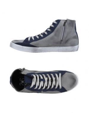 Высокие кеды и кроссовки 2STAR. Цвет: серый