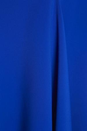 Однотонное платье Chapurin. Цвет: синий