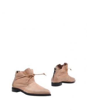 Ботинки MANILA GRACE. Цвет: песочный