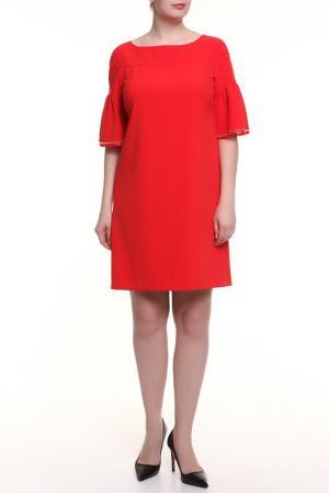 Платье Maria Grazia Severi. Цвет: красный