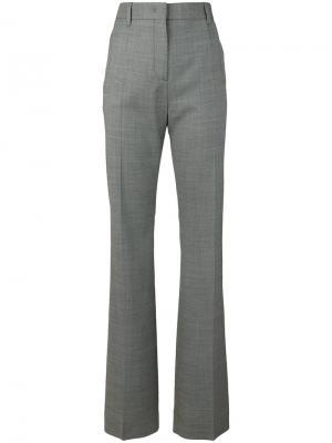 Классические брюки Prada. Цвет: серый