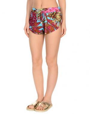 Пляжные брюки и шорты MISS BIKINI. Цвет: фуксия