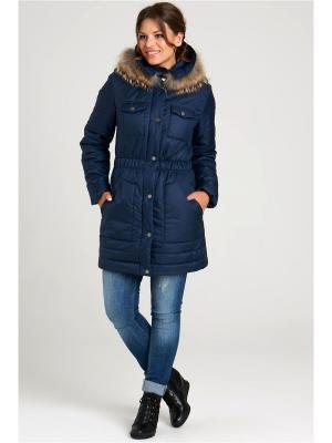Куртка Modress. Цвет: темно-синий