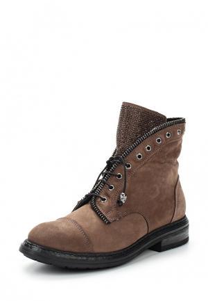 Ботинки Nikkn. Цвет: коричневый