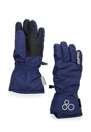 Перчатки Huppa. Цвет: синий