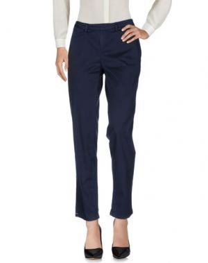 Повседневные брюки D-21. Цвет: темно-синий