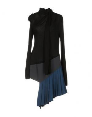Короткое платье VIONNET. Цвет: черный