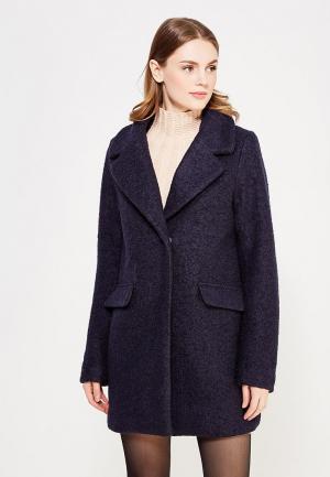 Пальто Ichi. Цвет: синий