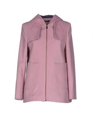 Пальто GIORGIA & JOHNS. Цвет: розовый