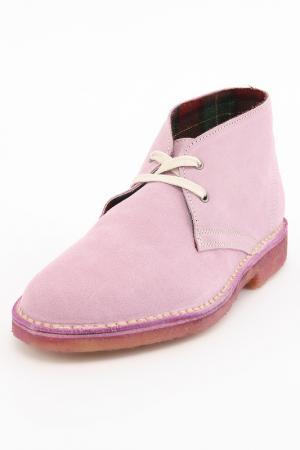 Ботинки J.J.Delacroix. Цвет: розовый