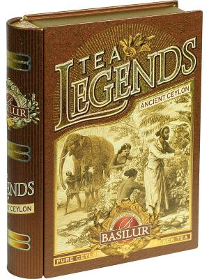 Чай Basilur Чайные легенды-Древний Цейлон , 1 КНИГА. Цвет: черный